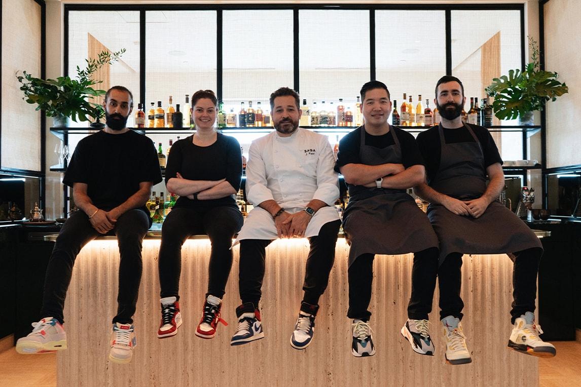 sole mates chef james kent union la air michael jordan brand 1 interview conversation food sneakers