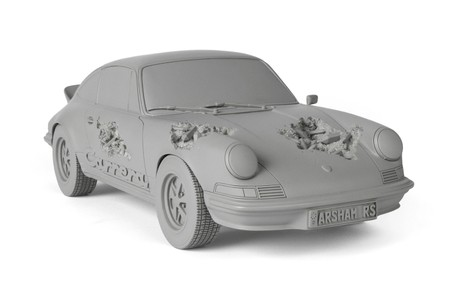 Daniel Arsham to Release 'Eroded Carrera RS' Sculptures