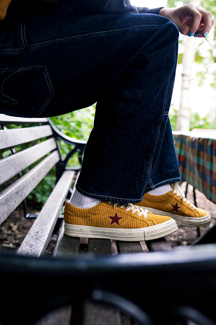 Gully Guy Leo Mandella Converse One Star Campaign Sole Mates Interview Young Fashion Supreme Outfit Child Model DJ Actor Shoes Shoes