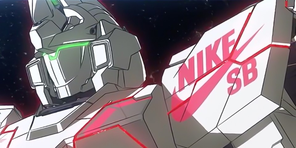 'Gundam' and Nike SB Release Teaser Video for Upcoming Dunk High Collab