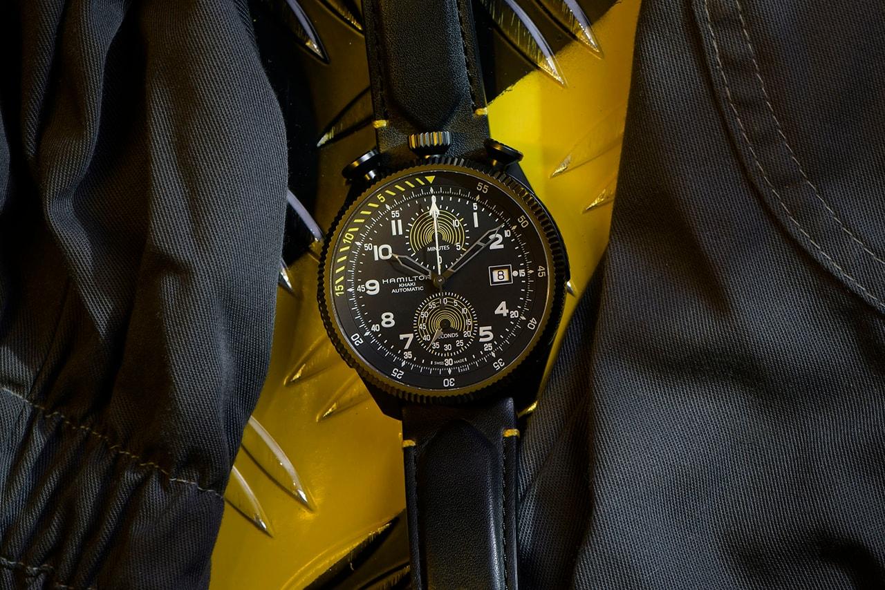 Hamilton Drops Limited Edition 46mm Chronograph To Mark Record Breaking Tunnel Flight of Ambassador Dario Costa