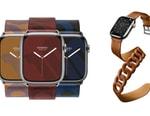 Hermes Releases Elegant Apple Watch Series 7 Straps