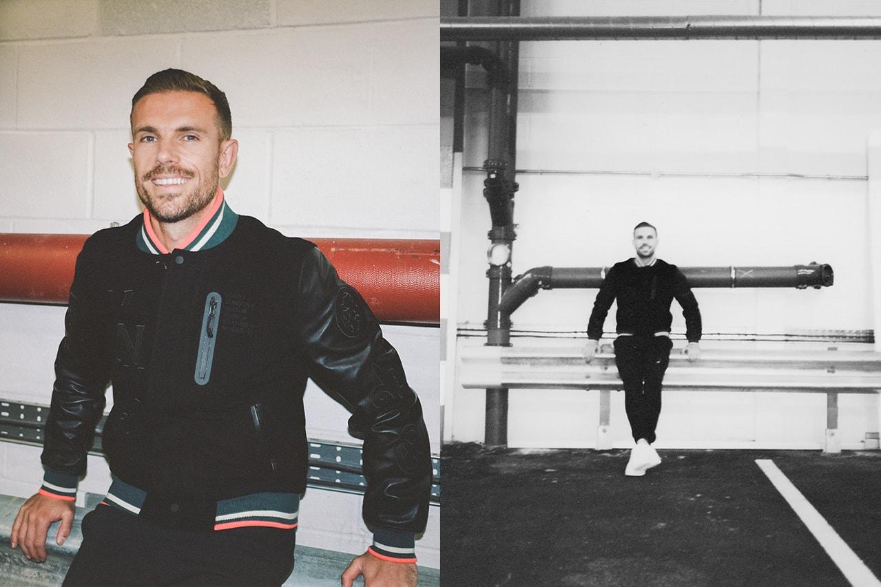jordan henderson liverpool football club soccer nike activism third kit racism nhs interview golden generation details