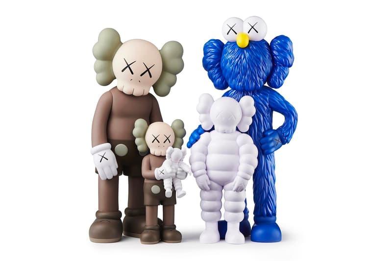 KAWS FAMILY 2021 Set Medicom Toy Kawsone Release COMPAÑERO QUÉ FIESTA BFF