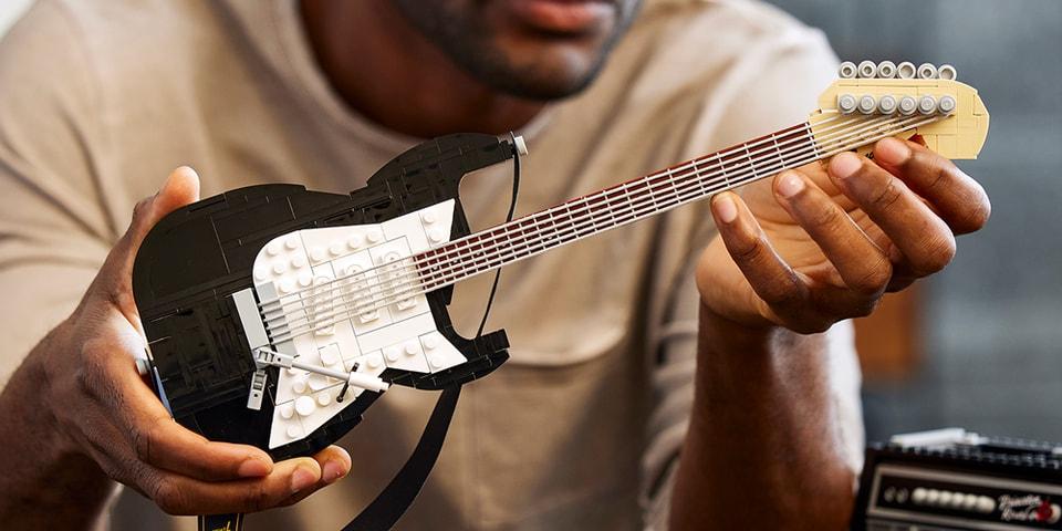 LEGO Introduces a Fender Stratocaster Guitar Set thumbnail