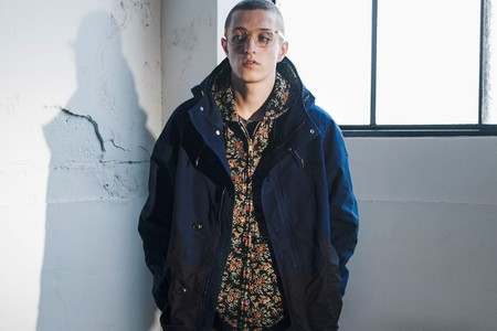 Monkey Time and THE NORTH FACE PURPLE LABEL Deliver a Mountain Parka for FW21