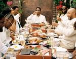 "Nas Enjoys ""Brunch on Sundays"" With LeBron James, Swizz Beatz, Cordae and More"