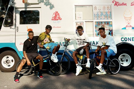 Nigel Sylvester's GO Teams up With BBC ICECREAM for BMX-Celebrating Collaboration