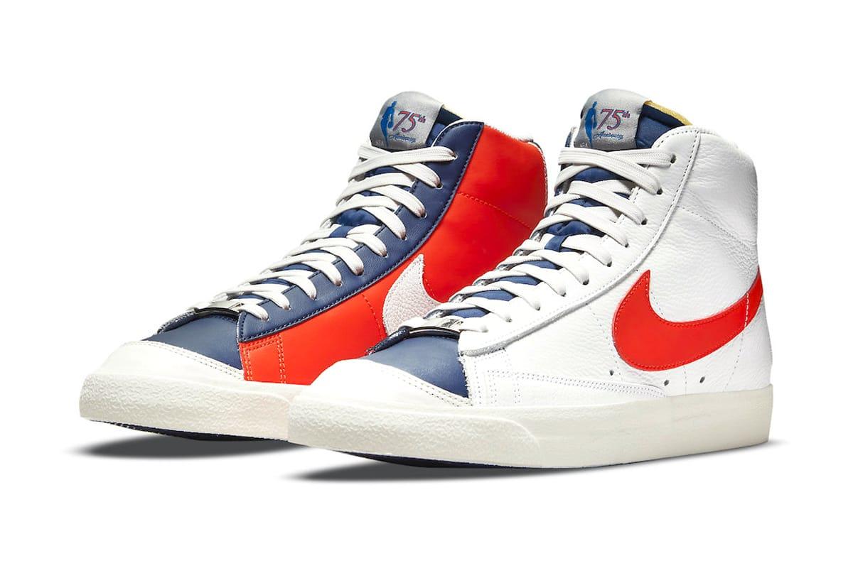 NBA Celebrates 75th Anniversary With New York Knicks-Inspired Nike Blazer Mids