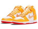 """Nike Dunk High Gets Treated With """"Laser Orange"""" Overlays"""