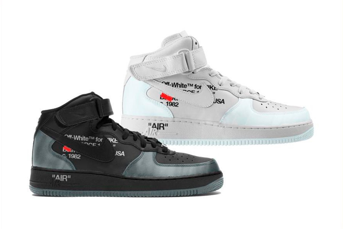 Off-White™ x Nike Air Force 1 Mids
