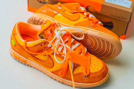 """Off-White™ Launches Series Highlighting Nike Dunk Low """"The 50"""" Edits"""