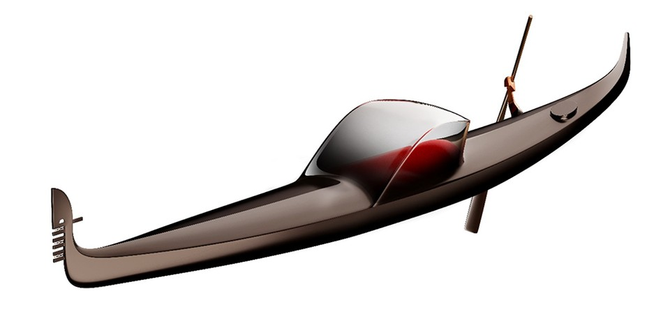 Philippe Starck Reimagines the Gondola as a Symbol of Innovation in Venice