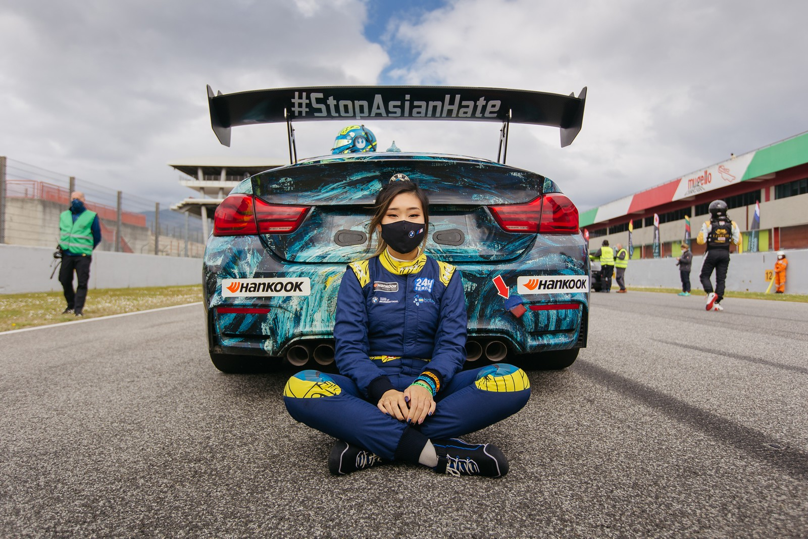 DRIVERS: Pro Racer Samantha Tan and Her BMW 1M Coupe Clown Shoe Z3M Z4M M Coupe