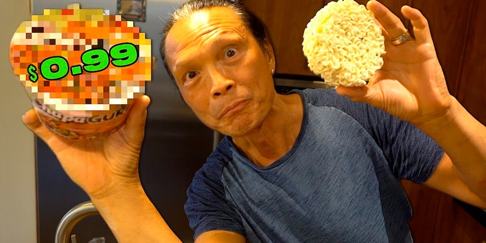 Watch This Iron Chef Turn Instant Noodles Into a Gourmet Meal