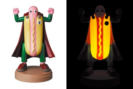 UNDERCOVER x Will Sweeney x Medicom Toy Serve up the Helmut Hot Dog Man Lamp