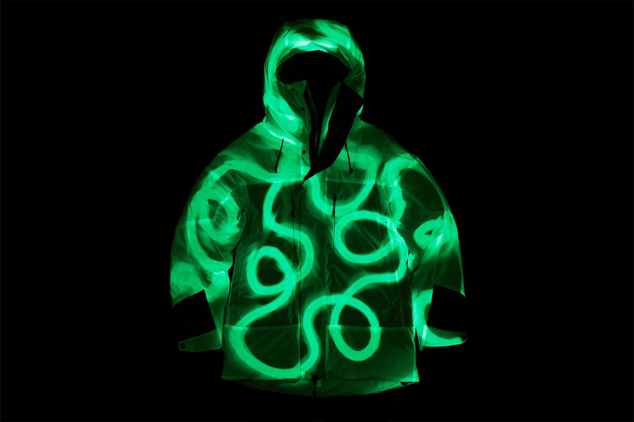 What the Tech? A Look at Vollebak's Solar-Charged Outerwear glow in the dark coat