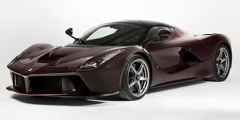 One-Off Ferrari LaFerrari Could Fetch $3.45M USD at Auction