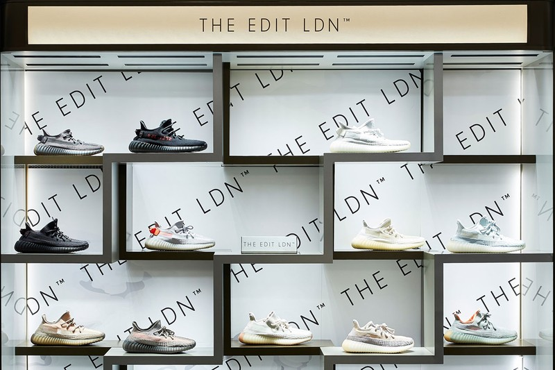 Harrods Enters the Sneaker World Through Partnership With The Edit LDN