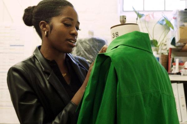 Inside Bianca Saunders' Versatile London Studio