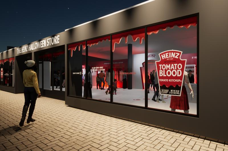 heinz, <b> Heinz supports your &#8216;ketchup as fake blood&#8217; Halloween tradition </b>