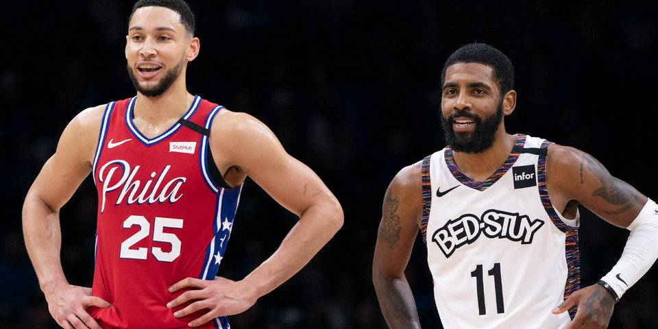 Polls Find Kyrie Irving and Ben Simmons as the Most Disliked NBA Players