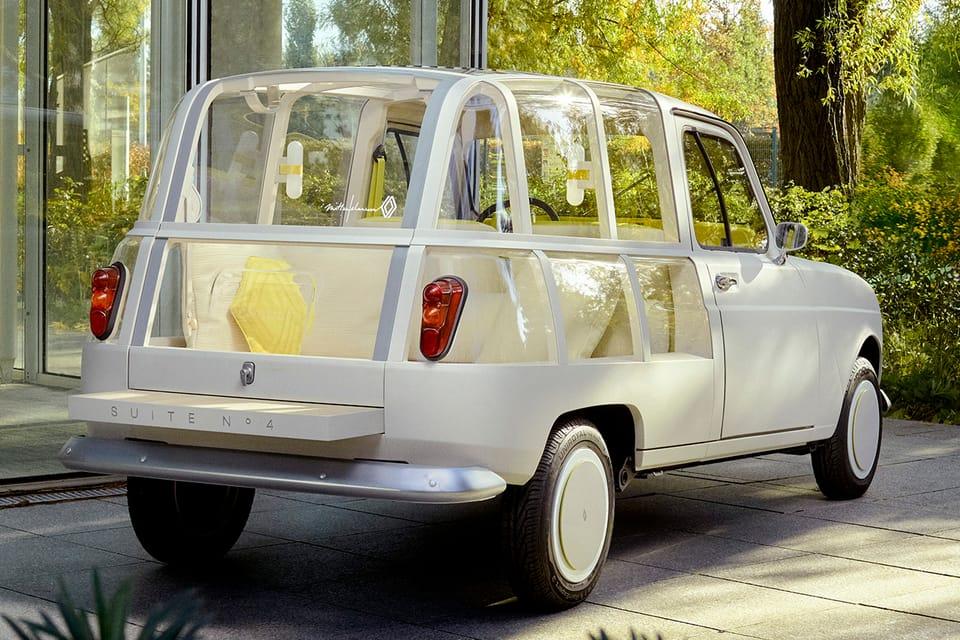 hypebeast.com - Eric Brain - Mathieu Lehanneur's Renault 'SUITE N°4' Is a Luxury Open-Air Hotel on Wheels