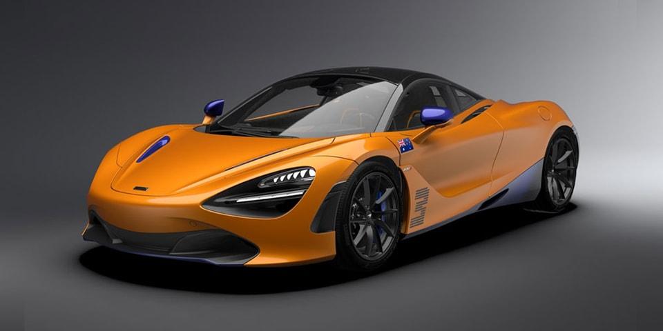 "McLaren Unveils ""Papaya Spark Orange"" Daniel Ricciardo-Edition 720S"