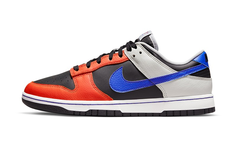 """Official Images of the NBA x Nike Dunk Low EMB """"Knicks"""""""
