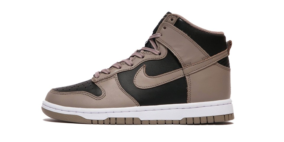 """Take a First Look at the Nike Dunk High """"Moon Fossil"""""""