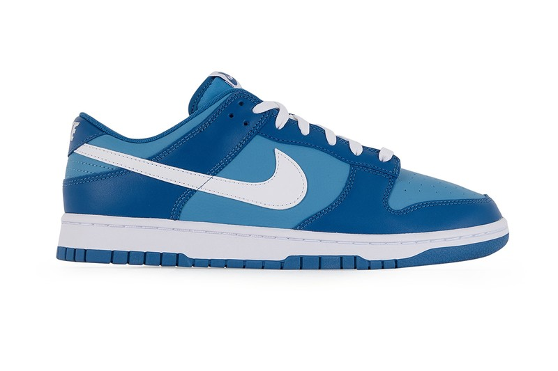 """Nike Dunk Low is Revealed With a """"Reverse Argon"""" Color Scheme"""
