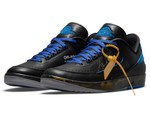 """Official Images of the Off-White™ x Air Jordan 2 Low """"Black/Blue"""""""