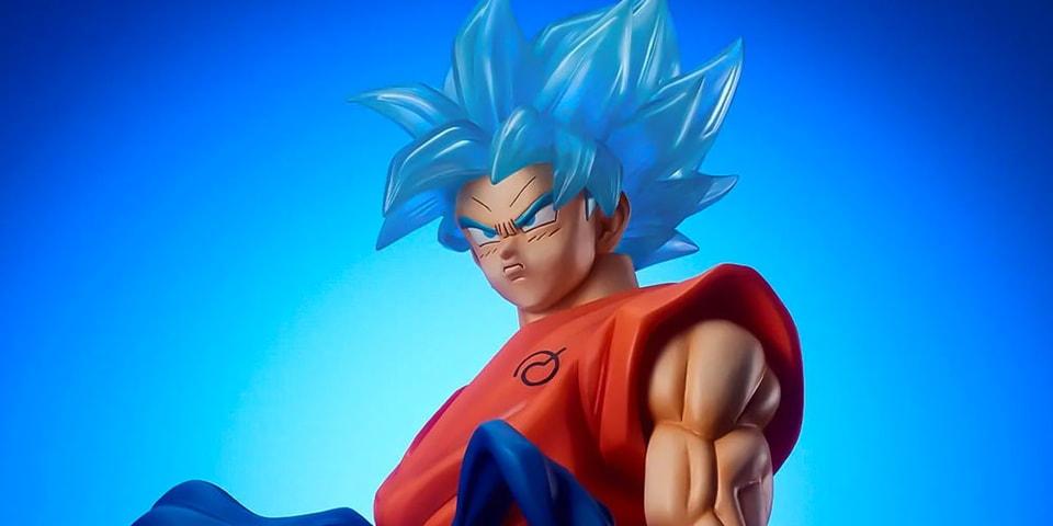Premium Bandai Is Releasing a 19-Inch Super Saiyan Blue Goku Figure