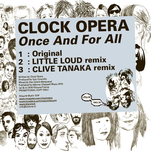 sports shoes ee0ce 59def Clock Opera - Once And For All (Clive Tanaka Remix)