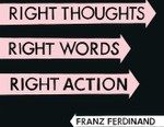 Franz Ferdinand - Right Thoughts, Right Words, Right Action (Full Album Stream)