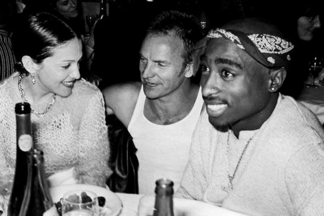 tupac dating before he died