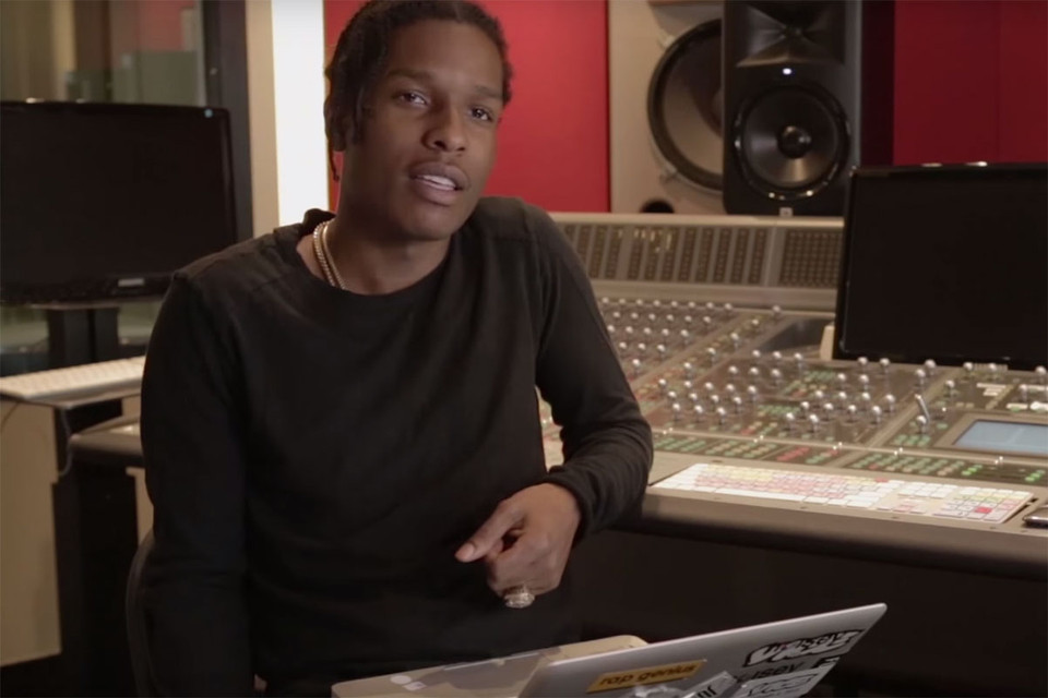 A$AP Rocky Responds to YouTube Comments Written on