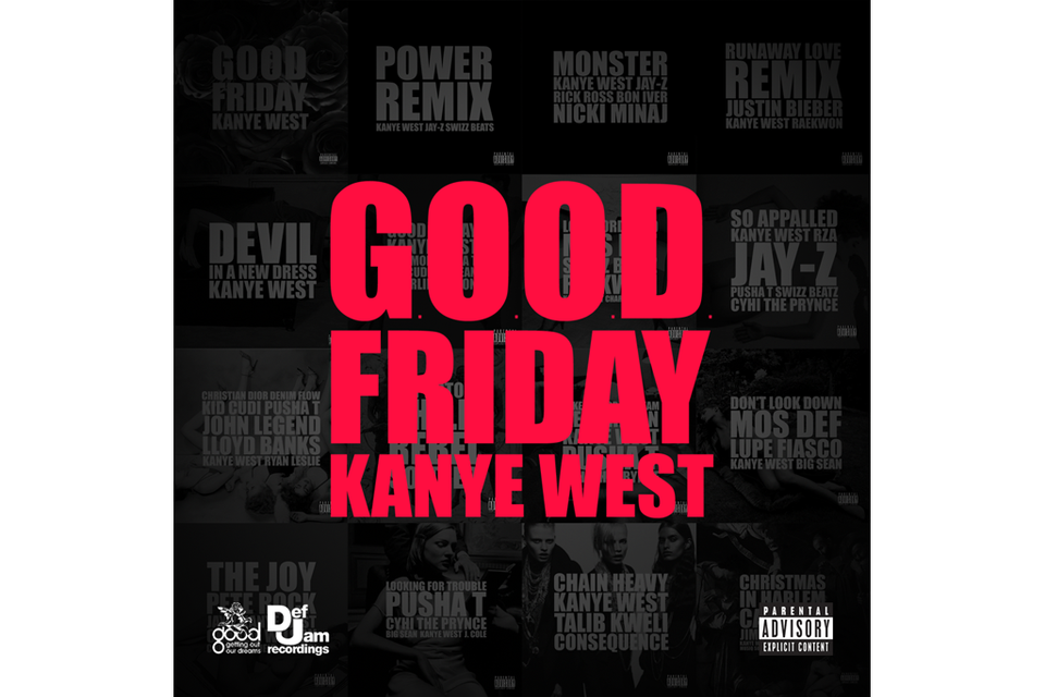 Here Are Kanye West\'s G.O.O.D Friday Songs...So Far | HYPEBEAST