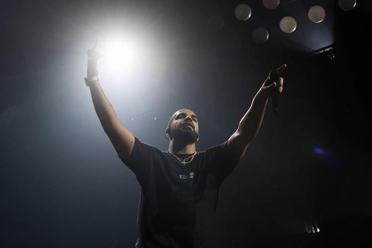 c1efb4c8ef3 Drake Brings out Derrick Rose at Madison Square Garden Show