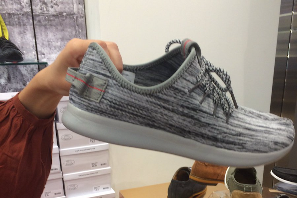 bf9221cf996 Steve Madden is Now Selling Fake Yeezy Boost 350s