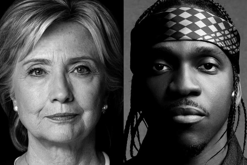 Hillary clinton hosts pusha t meet greet contest hypebeast hillary clinton hosts pusha t meet greet contest m4hsunfo