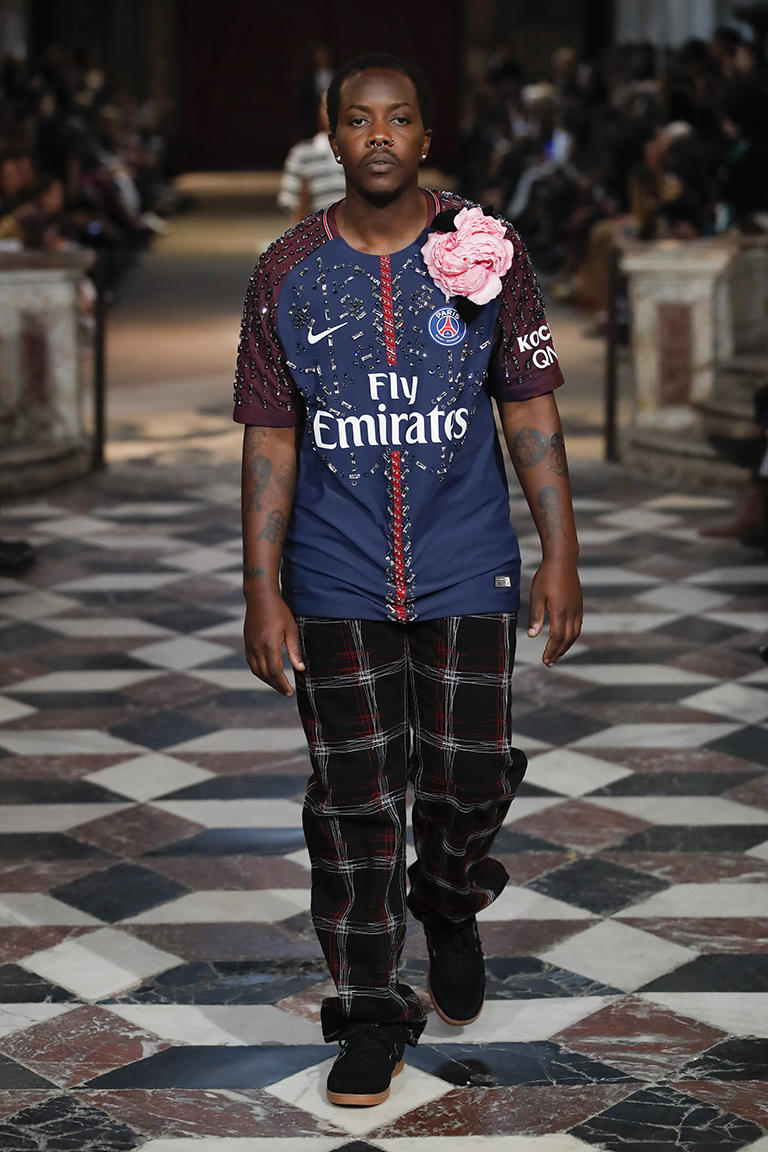 KOCHÉ Paris Saint-Germain Fashion Week Paris 2017 Église Saint-Merri
