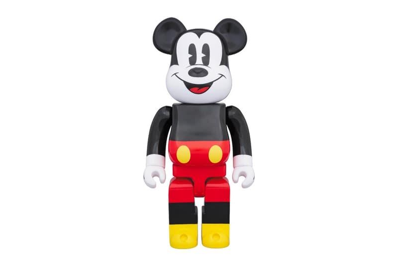 Mickey Immortalisé En BE@RBRICK