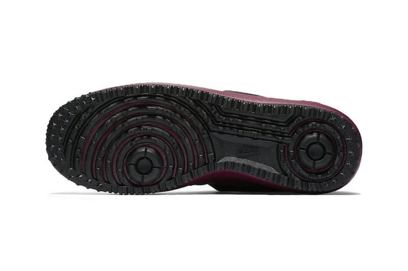 Nike Lunar Force 1 Burgundy Automne