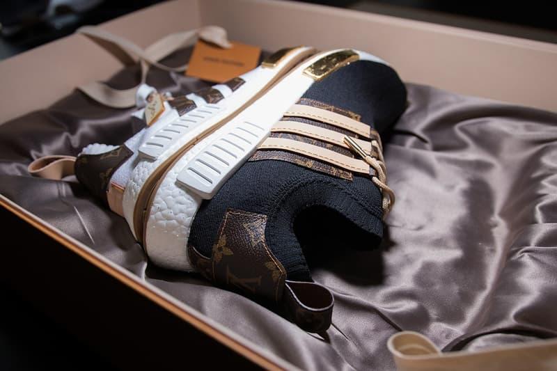 hot sale online d28d4 8e9f3 adidas NMD x Louis Vuitton, Deux Paires Customisées | HYPEBEAST