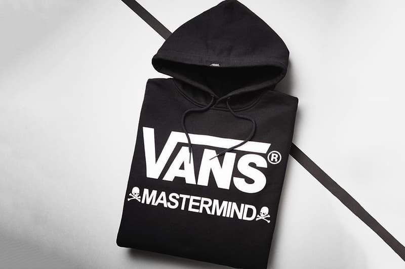 mastermind Japan VANS Collaboration Collection Black