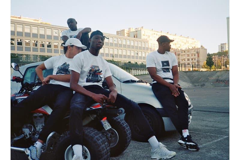BSHP NST Bishop Nast T-shirts Blancs Voiture