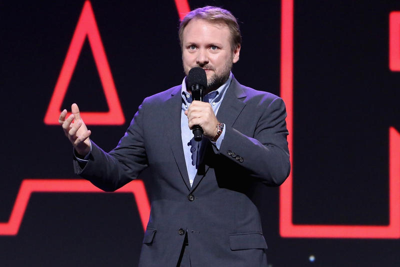 Conférence Rian Johnson Jesse Grant Getty Images