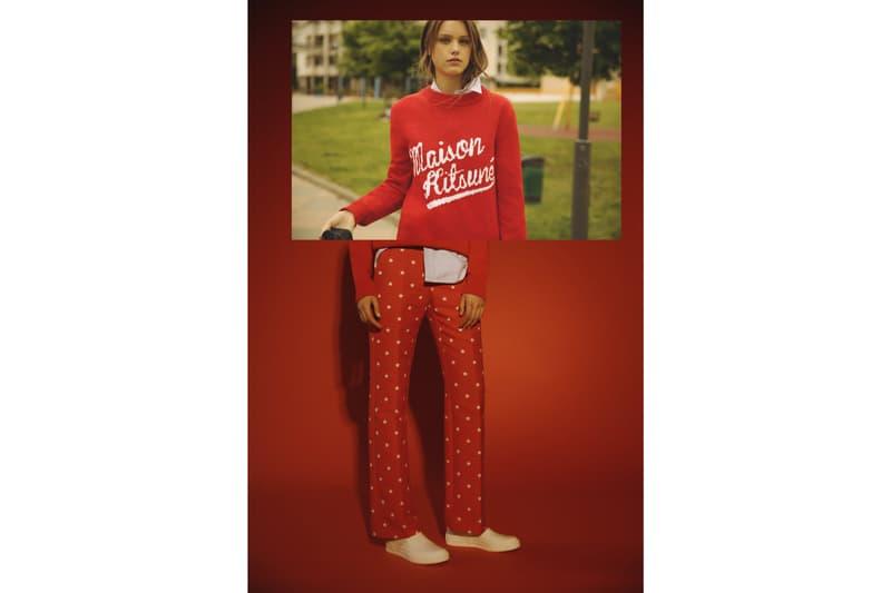 Maison Kitsuné Collection Capsule Kitsuné Western Jacket Bandana T-Shirt Ivy League