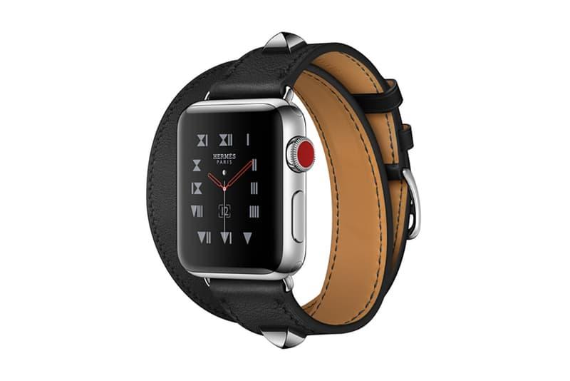 Apple Watch Hermès Series 3 Noir Clou